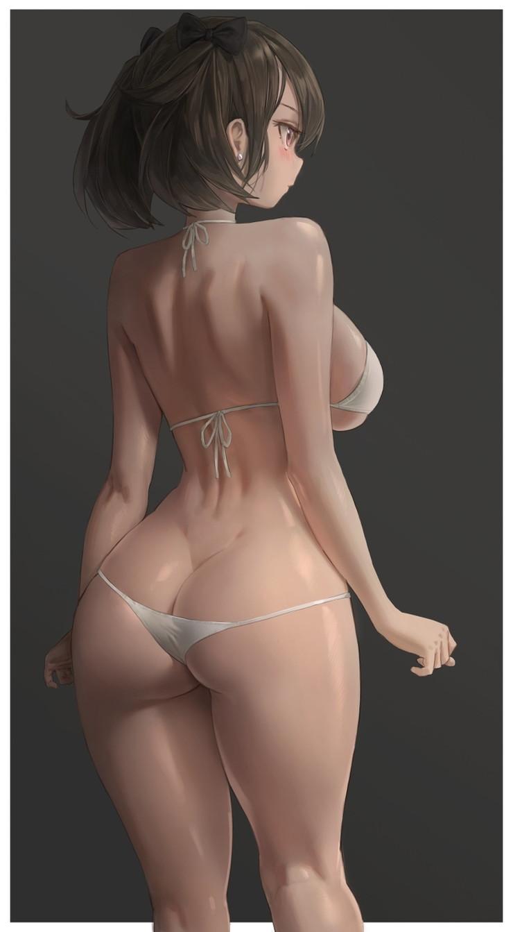【二次】くびれがエッチな女の子のエロ画像 Part7