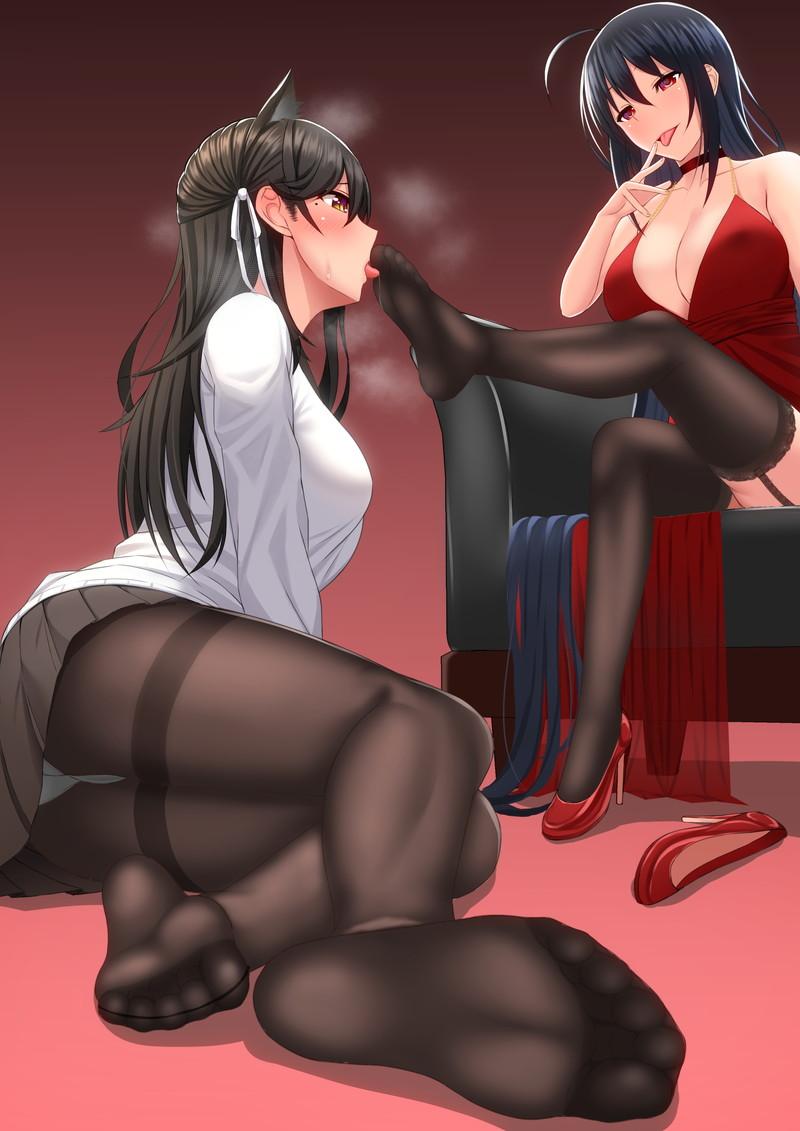 【2次】女の子同士でイチャイチャしてる百合(レズ)のエロ画像